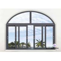 Cheap Double Glazed Aluminium Sliding Windows For House 1.4mm~3.0mm Wall Thickness for sale