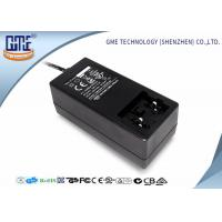 Quality Black Antijamming 36W Switching Power Adapter With Coil , 87.4% Efficiency wholesale