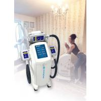 Quality Vertical Cryolipolysis Fat Freezing Machine , Supersonic Fat Reduction Device wholesale
