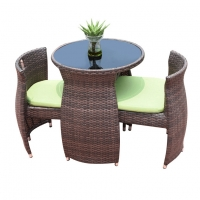 Buy cheap Coffee Shop Bistro Table And Chairs Set Restaurant Furniture from wholesalers