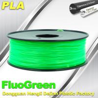 Quality PLA Desktop pla 3d printing material Fluorescent  Filament for Markerbot wholesale