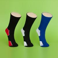 Quality Sweat - Absorbent Mens Black Ankle Socks , Eco - Friendly Athletic Ankle Socks For Adults wholesale