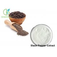 China HPLC Natural Black Pepper Extract / Piperine Powder 98% For Wound Healing on sale
