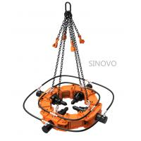 Cheap 320kN 150mm Stroke Hydraulic Pile Breaker Low Noise With Safe Operation for sale