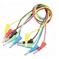 Quality Audio & Video use Banana to Banana Test Leads 4mm Custom Banana Cables wholesale