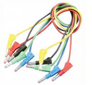 Quality Audio & Video use Banana to Banana Test Leads 4mm Custom Banana Cables wholesale