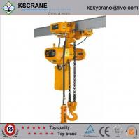 Quality Hot Sale 2ton Electric Chain Hoist With Monorail Trolley wholesale