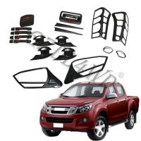 Quality Decorative Head Lamp Cover 4x4 Body Kits For Isuzu Dmax 2012-2014 wholesale