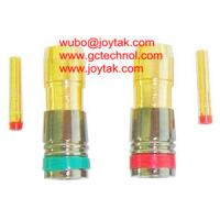 Buy cheap RCA Connector Compression Type for RG59 Coax Cable best selling premium quality RCA compression connector from wholesalers