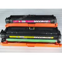 Quality CE740A CE741A Color Toner Cartridges , BCMY Laser jet Toner Cartridge wholesale