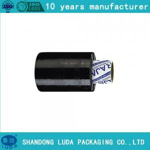 Quality Mini Black Stretch Film Roll Handy Grip Handle Stretch Wrap wholesale