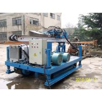 Cheap XPL-20A Crawler drilling Rig For Anchoring apply singe pipe, duplex pipe, triple pipe tools for sale
