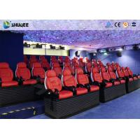 Quality Virtual Reality Electric 5D Simulator For 5D Movie Theater With 16 Kinds Of Effect wholesale
