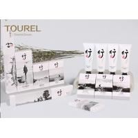 Quality Guest Room Hotel Bathroom Amenities Disposable Toiletries With Shower Gel / Shaving Kit wholesale
