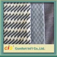 Quality Bus / Car Interior Decoration Striped Auto Upholstery Fabric / Contemporary Upholstery Fabric wholesale