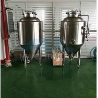 Quality 800L olive oil/palm oil/raw milk storage tank stainless steel beer wine tank  2500l 304 Ss Beer Brite Bright Tank(ce) wholesale