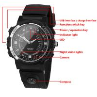Y30 8GB 720P WIFI P2P IP Spy Watch Hidden Camera Recorder IR Night Vision Motion Detection Remote Video Monitoring