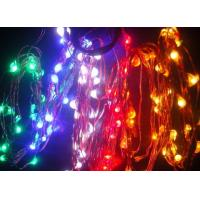 China 5m/25leds Flat battery operated holiday time lights on sale