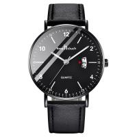 China stylish luxury men's wrist quartz business watch by low MOQ customized logo for sale