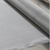 "Quality Fine Stainless Steel 304 316 Wire Cloth, 95Mesh Plain Weave 0.0035"" Wire 48"" Wide wholesale"