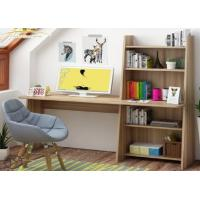 Buy cheap Simple modern computer desktop desk, home bedroom table, multi-function bookcase from wholesalers