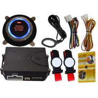 Quality Invisible Car Engine Start Stop System With Ignition Button , RFID Anti Theft Protection wholesale