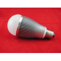 Cheap 4W AC100 - 240V / 50 - 60Hz Black / Silver Cup Dimmable LED Lighting Bulb With CE ,RoHS for sale