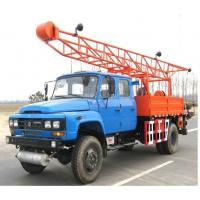 Cheap Mobile Drilling Rigs Having Hydraulic Pressure High Self-adsorb Ability ST100-3G With Auxiliary Hoisting Device for sale
