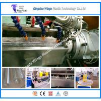 Quality PVC Steel Wire Reinforced Pipe Extruder Machinery, Hose Making Machine wholesale