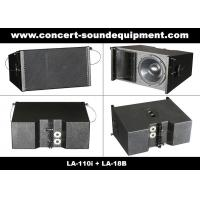 "Cheap 380W Line Array Speaker , With 2x1""+10"" Neodymium Drivers For Living Event , DJ , Party And Installation for sale"