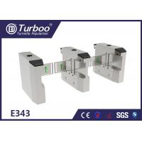 Quality LED Light Swing Barrier Turnstile Access Control Systems Multiple Infrared Sensor wholesale