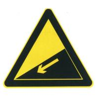 Quality Steep slope sign wholesale
