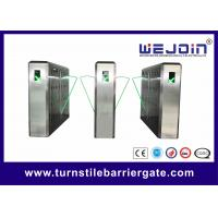 Buy cheap Pedestrian Retractable Optical Flap Barrier, manufacture of China from wholesalers