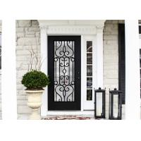 Quality European Style Custom Design Decorative Door Glass Inserts Excellent Climate Resistance wholesale