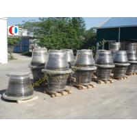 Quality Dock / Port Black Boat Fenders For Container Terminal , 1000H Cone Type wholesale