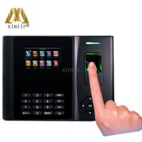China XM200 Fingerprint Time Attendance User-defined Function Key Time Clock Linux System Time Recording With Webserve Function on sale