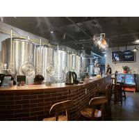 Buy cheap 500L beer brewing equipment for brewpub , or restaurant , stainless steel from wholesalers