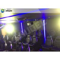 Quality 7D Cinema Theatre With Laser Games And Live Action Movies For Science And Horror wholesale