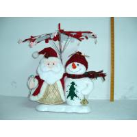 Santa Claus and Snowman Christmas Moving Musical Toddler Electrical Toys Battery
