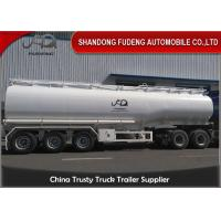 Buy cheap 3 Axles 50000 Litres 2 Compartments carbon steel Material Fuel Tanker semi from wholesalers