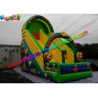 Quality Forest Jungle Commercial Inflatable Slide Slip Water Proof And Fire Retardant wholesale