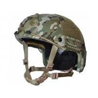 Quality Level IIIA Ballistic Helmets For Law Enforcement Dual Lateral Rail System wholesale