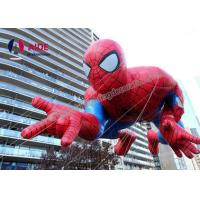 Quality New PVC Inflatable Cartoon Characters Blow Up Spiderman For Fashion Show wholesale