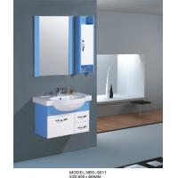 Quality Contemporary pvc bathroom vanity with Cremic basin colors available square Type wholesale