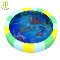 Quality Hansel Shopping mall for baby plastic soft toy attraction children water bed wholesale