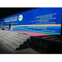 China Modular P10mm 64x32 Outdoor Advertising LED Display Screen on sale