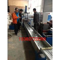 Cheap Single Screw Extrusion HDPE / LDPE Plastic Recycling Equipment 135kg/h for sale