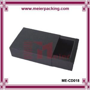 Quality Soap paper drawer box/Black kraft fragrance soap packaging box ME-CD018 wholesale