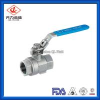 China High Temperature Resistance 304 Stainless Steel Ball Valve For Industrial on sale