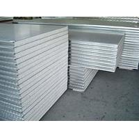 China Corrugated Noise Insulated Metal Panels , Fire Rated Insulated Roofing Sheets on sale
